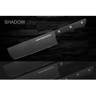 """Нож кухонный овощной Накири, 170 мм, Samura """"Shadow"""" (SH-0043)"""