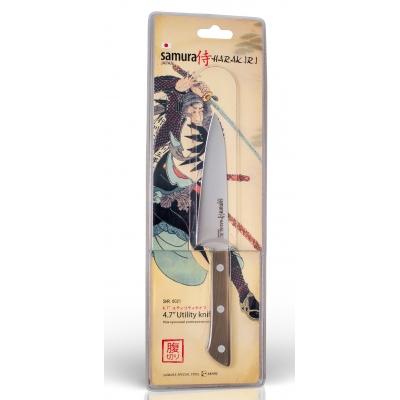 """Нож кухонный универсальный, 120 мм, Samura """"Harakiri"""" (SHR-0021WO)"""