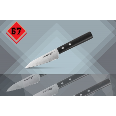 "Нож кухонный овощной, 98 мм, Samura ""67"" (SS67-0010)"