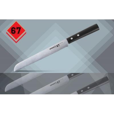 "Нож кухонный для хлеба, 215 мм, Samura ""67"" (SS67-0055)"