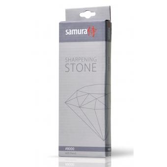Камень точильный водный, однослойный, зернистость 8000, Samura (SWS-8000)