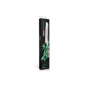 """Нож кухонный для хлеба, 200 мм, Samura """"Bamboo"""" (SBA-0055)"""