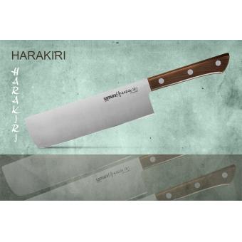 """Нож кухонный овощной Накири, 161 мм, Samura """"Harakiri"""" (SHR-0043WO)"""