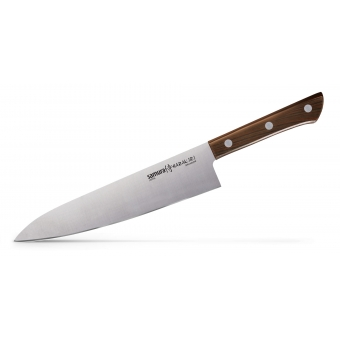 "Нож кухонный Шеф, 208 мм, Samura ""Harakiri"" (SHR-0085WO)"