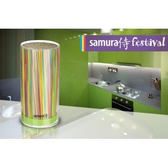 """Подставка для ножей универсальная, 225 мм, Samura """"Festival"""" (SKB-400G)"""