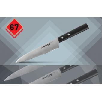 """Нож кухонный универсальный, 150 мм, Samura """"67"""" (SS67-0023)"""